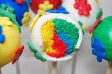 The Cookie Puzzle: Autism Cake Pops by Serendipitous Sweets