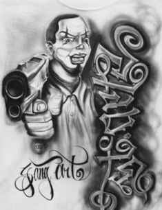 Art Chicano, Chicano Love, Cholo Art, Chicano Tattoos, Jail Tattoos, Gangsta Tattoos, Foot Tattoos, Lowrider Tattoo, Lowrider Art