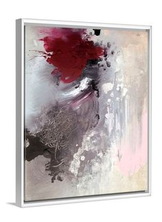 Beauty From Ashes abstract canvas print by Lindsay Letters. #abstractart