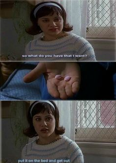 Daisy Randone, played by Brittany Murphy. Girl Interrupted Movie, Brittany Murphy, Movie Marathon, Movies Worth Watching, Film Quotes, Rich Girl, Film Director, S Girls, In Hollywood