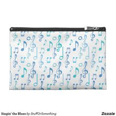 Singin' the Blues Travel Accessories Bags