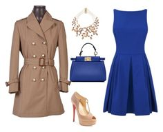 """""""Untitled #288"""" by jamiemitchell2381 on Polyvore featuring Fendi, Christian Louboutin, Gucci and Rosantica"""