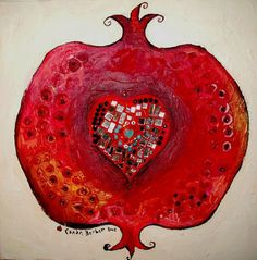 Heart in Pomegranate