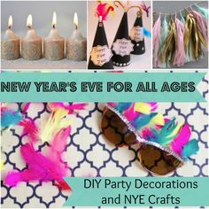 New Year's Eve for All Ages: 14 DIY Party Decorations and New Years Crafts | AllFreeKidsCrafts.com