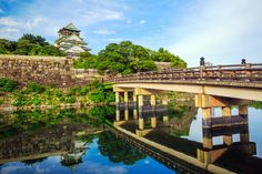 Osaka Castle Bridge, Japan puzzle in Bridges jigsaw puzzles on TheJigsawPuzzles.com. Play full screen, enjoy Puzzle of the Day and thousands more.