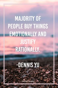 When you look back at internet marketing you see nothing has changed, the core strategy is you're sharing a message, story, and problem's solution. Majority of people buy things emotionally and justify rationally.  People will make a decision on rationality whether its direct market, internet market, or network market.