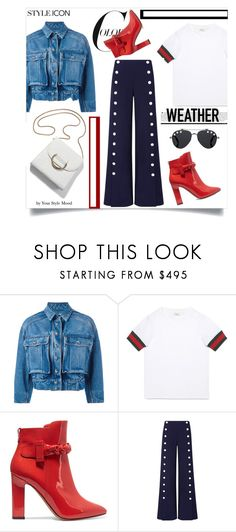 """""""Spring outt"""" by yourstylemood ❤ liked on Polyvore featuring Dolce&Gabbana, Gucci, Valentino, Tory Burch, Givenchy, PROMNIGHT, polyvoreeditorial and polyvorecontest"""