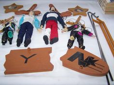 4 Nsync Marionette Dolls + Stands Lance Joey Puppets