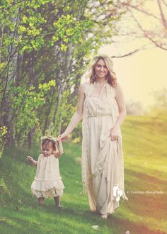 Mommy and me shoot.
