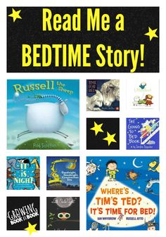 Read Me a Bedtime Story book suggestions for kids Best Children Books, Toddler Books, Books For Boys, Childrens Books, Preschool Books, Book Activities, Bedtime Stories To Read, Reading Rainbow, Book Suggestions
