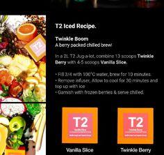 T2 Iced Tea Iced Tea Recipes, Drink Recipes, Snack Recipes, Snacks, Infused Waters, Tea Infuser, Cocktails, Drinks, High Tea