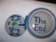 M A Hadley Pottery Casserole | eBay