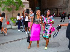 Essence held their annual street style block party in Brooklyn today. The event brought out celebrities and some of New York's best dre...