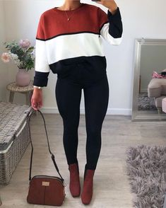 Outfits Fall Women's Fashion Trends to Adopt Fall Winter Outfits, Spring Outfits, Winter Fashion, Spring Fashion, Looks Chic, Looks Style, Mode Outfits, Fashion Outfits, Womens Fashion