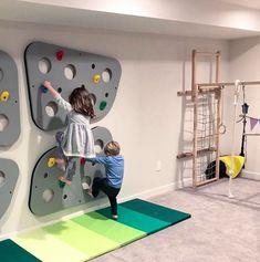 15 Amazing Finished Basement Design Ideas - Sara - Beyond Binary Kids Basement, Basement Layout, Basement Ideas, Finished Basement Playroom, Basement Play Area, Rustic Basement, Modern Basement, Walkout Basement, Basement Plans