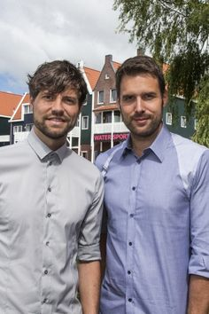 Nick en Simon, Volendam, Noord-Holland.