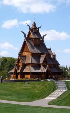 Gol Stave Church Museum | Travel | Vacation Ideas | Road Trip | Places to Visit | Minot | ND | Monument | Photo Op | Folk Art | Place of Worship | Museum | Historic Site | Architectural Site | Offbeat Attraction | Roadside Attraction