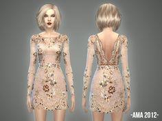 Sims 4 CC's - The Best: Dresses by April
