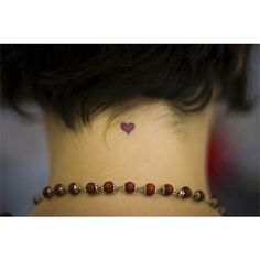 Tiny Heart Tattoo | Ink Art Tattoos found on Polyvore