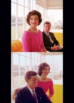 Jackie in pink.  America's icon.