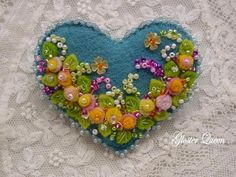 Hey, I found this really awesome Etsy listing at https://www.etsy.com/listing/193803594/flowers-and-more-flowers-hand-beaded