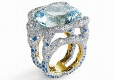 Zaavy took inspiration for the jewelry collections from some of Fabergé's original works as well as traditional Russian folklore.