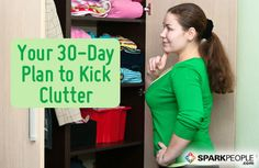 Declutter Your Home in 30 Days - a good list of areas of the home that I often forget when decluttering.