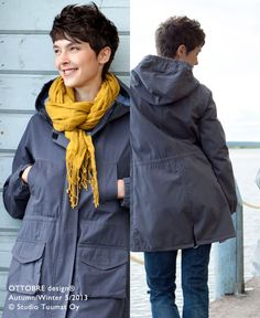 The OTTOBRE design® Blog. I want to sew this jacket!