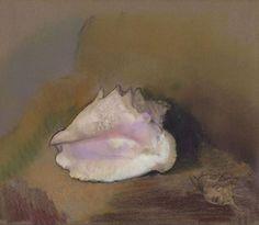 Le Coquillage, par Odilon Redon Pastel 51 x 57,8 cm 1912  Musée d'Orsay, Paris, France