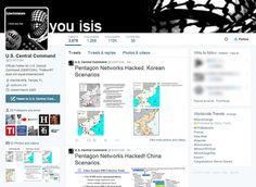 Сајбер Калифат хаковао твитер налог централне команде Пентагона и поручио им да знају шта раде њихове жене (фото)  Званични Твитер налог Централне команда САД – ЦЕНТЦОМ – хакован је од стране хакерске групе којасимпатише милитантну организацију познату
