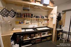 Ian Spiers' Studio - Darkroom | First photos of my darkroom'… | Flickr