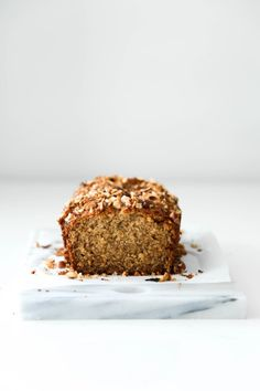 Gluten-Free + Dairy-Free Banana Bread - Beyond Our Sky Ginger Sweets, Dairy Free Banana Bread, Dairy Free Spread, Protein Cake, Healthy Cake Recipes, Base Foods, Food Photography, Sweet Treats, Yummy Food