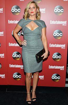 EW/ABC Upfront Party: Jessica Capshaw