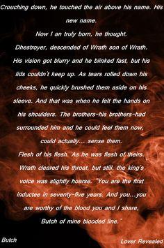 Wrath Rhage Zsadist Butch Vishous Phury BDB Black Dagger Brotherhood