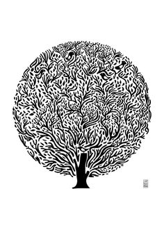 Tree Print by Judykaufmann on Etsy $42