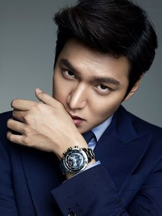 GUY CANDY: More photos of Lee Min Ho as perfect watch model