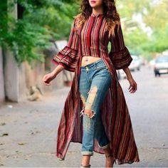 Fashion 2019 New Moda Style - fashion Stylish Dresses, Trendy Outfits, Casual Dresses, Fashion Dresses, Jeans Fashion, Sexy Dresses, Fashion Fashion, Fashion Ideas, Womens Fashion