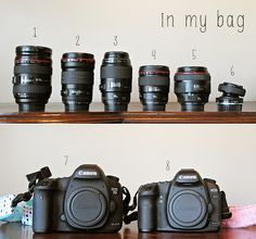 what's in the camera bag of photographer Alicia Gould