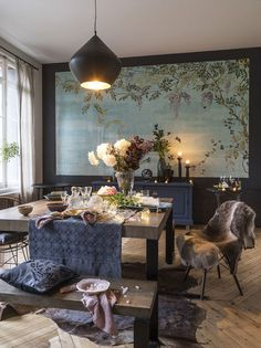 Волшебный отель в Нормандии | Пуфик - блог о дизайне интерьера
