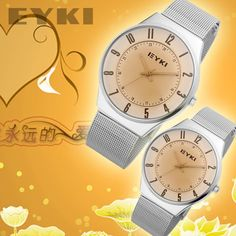 Luxury Mesh Pair Couples  Wristwatch New Arrival Best Price  Gfit Box Package Free Shipping 8503 on AliExpress.com. $30.00
