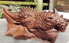 Large Copper Dragon Head Orgonite Generator by OrgoneJewelsUK on Etsy