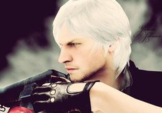 Frickin Dante, seriously sexiest video game chara EVAR!! (by YaninaJohnson on deviantART)