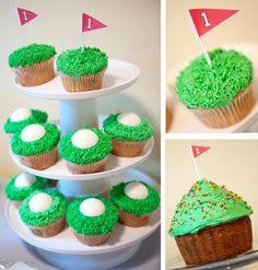 Ideas Birthday Cupcakes For Men Dads Cake Ideas For 2019 Golf Cupcakes, Cupcakes For Men, Birthday Cupcakes, Cupcake Cakes, Golf Cookies, Birthday Nails, Birthday Presents For Mom, Birthday Party For Teens, Man Birthday