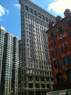Flatiron Building, Go Around, Flat Iron, Cityscapes, Art And Architecture, New York City, Skyscraper, New Homes, Around The Worlds