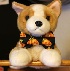 Spooktacular Dog Bowties for Halloween! by PuppyPawzBoutique on Etsy