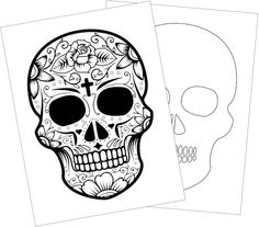 Printable Halloween Coloring Pages are the perfect way to give the kids some quiet time while keeping in the spirit of the season. Multicultural Crafts, Halloween Coloring Pages, Some Times, Girl Scouts, Teaching Kids, Halloween Crafts, Activities For Kids, Arts And Crafts, Skull
