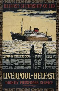 went on a ship like this to Belfast