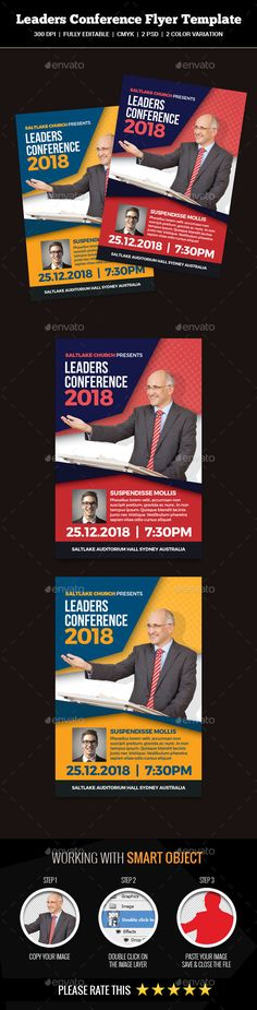 Youth Conference Church Flyer Youth conference, Flyer template - conference flyer template