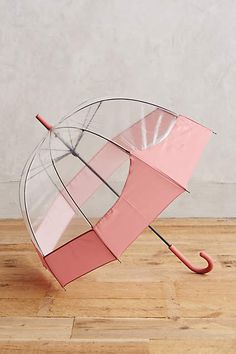 Pink promotes love and wellness...and keeps you dry and happy on rainy days!