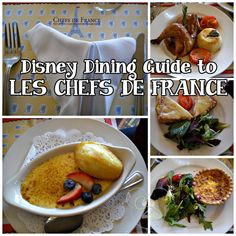 For some French cuisine, dine at Les Chefs de France in Epcot!